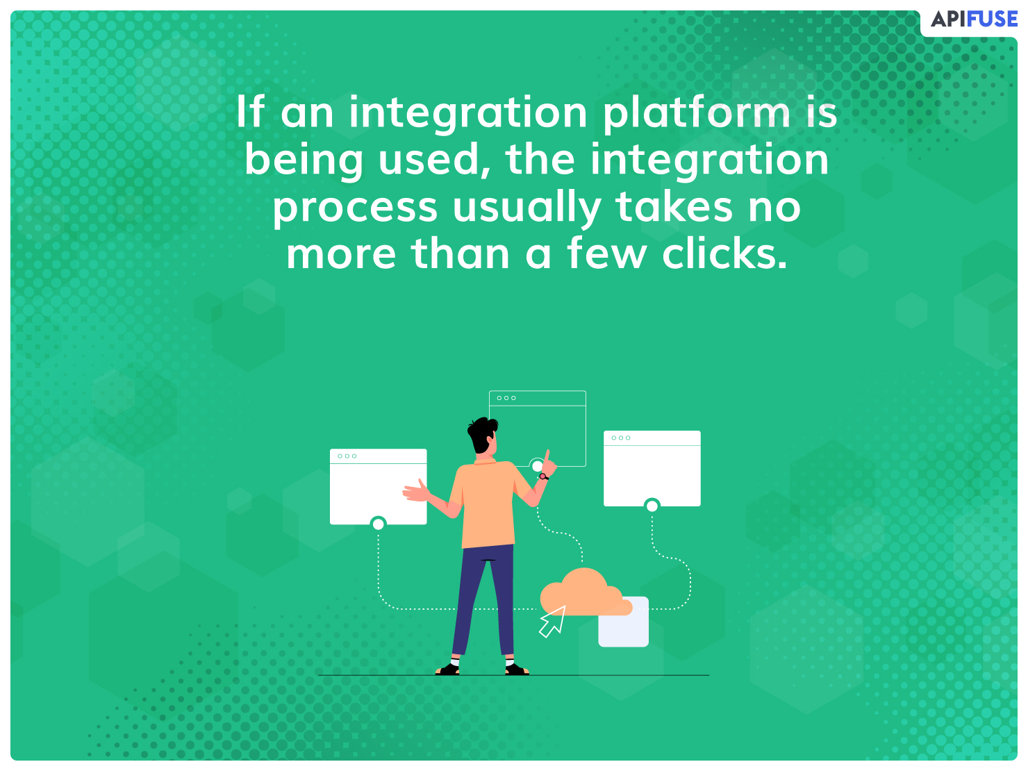 If an integration platform is being used