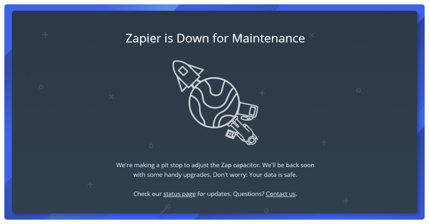 Zapier-is-Down-for-Maintenance